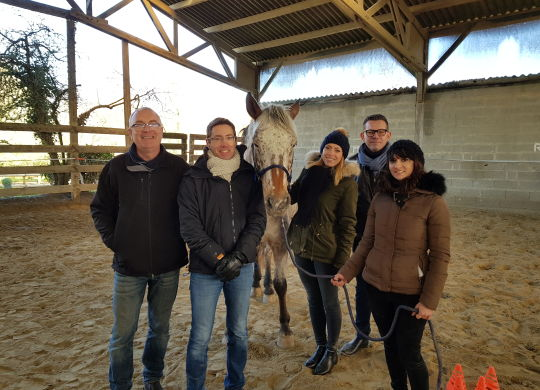 Coaching facilité par le Cheval AGP Coaching