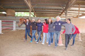 Cohésion d'équipe facilitée par le Cheval AGP Coaching
